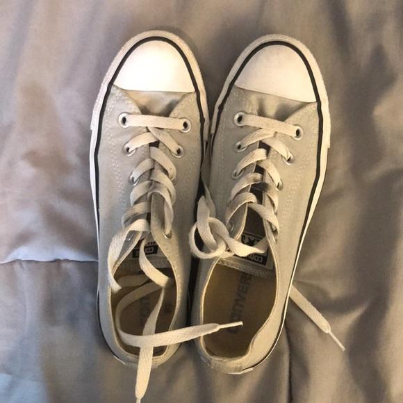 Converse Shoes - Light Gray converse